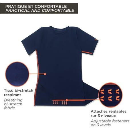 Percko Lyne FIT T-Shirt Sport Homme