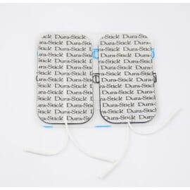 Jeux de 4 Electrodes à fil carrée 50x50mm COMPEX (par Dura-Stick)