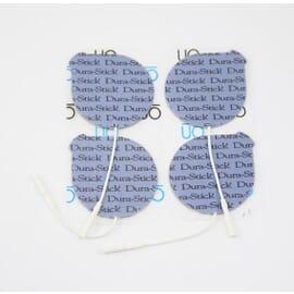 Électrodes Dura-Stick Plus à Fil Rondes 50mm