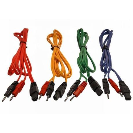 Jeu de 4 Câbles à Fil Compex 6P