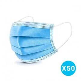 Masque Chirurgical Lot de 50 - Norme CE