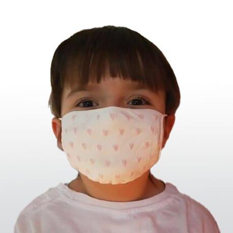 Masque Tissu Lavable Enfant - Lot de 2