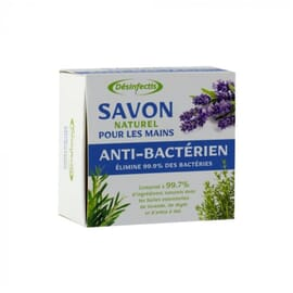 Savon naturel anti-bactérien aux huiles essentielles