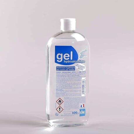 Gel Hydroalcoolique 500 ml King Biocide