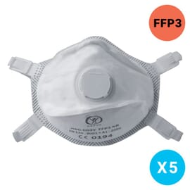 Masque FFP3 - EN149 2001 - Lot de 5