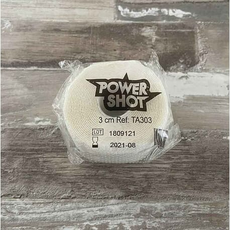 BANDAGE ELASTIQUE ET ADHESIF 3CM X 2,5M - Powershot