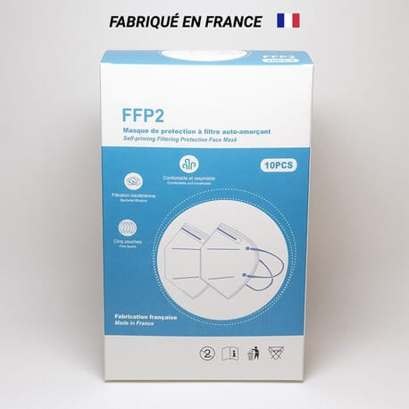 Masque FFP2 Made in France jetable