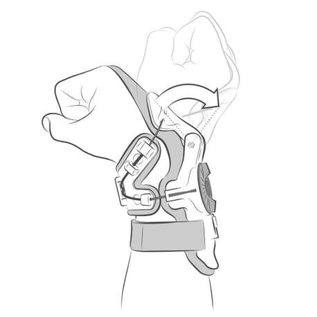 X8 WRIST BRACE - Mobius
