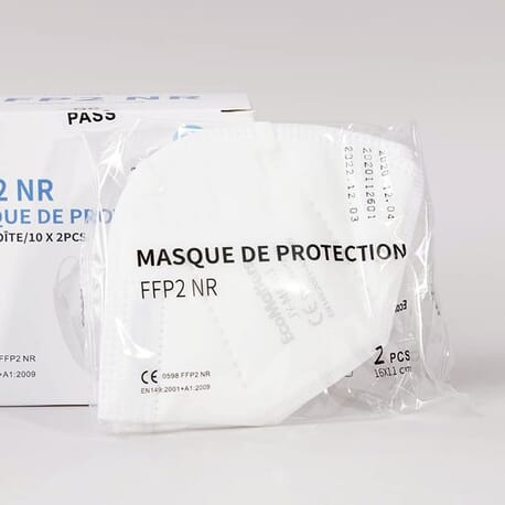 Masque Protection FFP2 - Lot de 20