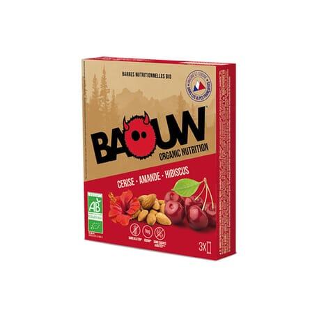 Barres Cerise - Amande - Hibiscus BAOUW