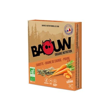 Barres Carotte - Graine de Courge - poivre Blanc BAOUW
