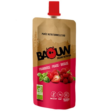 Purée Framboise - Fraise - Basilic BAOUW