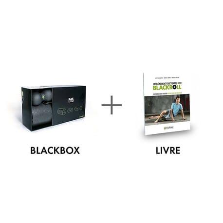 Pack Guide + Rouleaux + Balles de massage BLACKBOX BLACKROLL