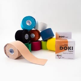 Pack éco Doki Tape - 10 + 1 Bandes 5 cm X 5 m