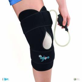 Attelle de genou cryogénique souple Igloo