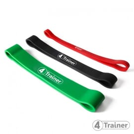 "Pack Mini Elastiques ""Powerband"" Extra Light + Light + Medium - 4Trainer"