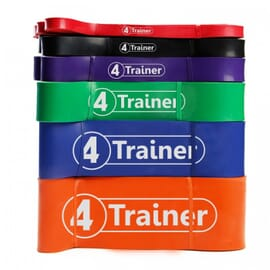 "Pack PRO Elastiques ""Powerband"" - 4Trainer"