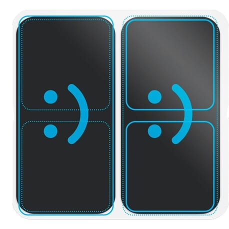 Electrodes Duo Sport Bluetens