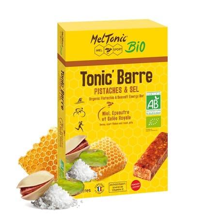 Barres Énergétiques Meltonic Bio - Miel, Pistaches & Fleur de sel de Guérande